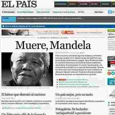 Muere, Mandela